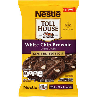 Nestlé® Toll House®  White Chip Brownie Cookie Dough