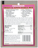 Kikkoman Sweet & Sour Sauce Mix 2.125 oz.