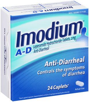Imodium® A-D Anti-Diarrheal Caplets 24 ct Box