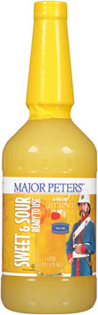 Major Peters'® Ready to Use Sweet & Sour Alcohol Free Cocktail Mix