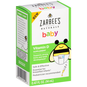 Zarbee's® Naturals Baby Vitamin D Dietary Supplement 0.47 fl. oz. Box