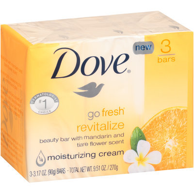 Dove® Go Fresh® Revitalize Beauty Bar 3-3.17 oz. Bars