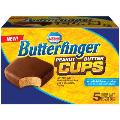Nestlé Butterfinger Peanut Butter Cups Frozen Dairy Dessert Bars
