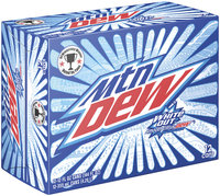 Mountain Dew® White Out® 12 Pack 12 fl. oz. Cans