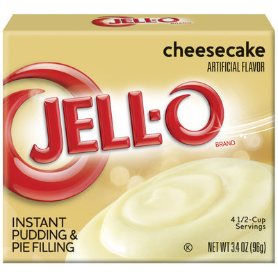 Jell-O Instant Cheesecake Pudding & Pie Filling 3.4 Oz Box
