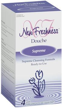 New Freshness Supreme Douche 4 Ct Box