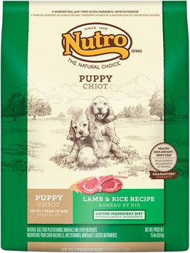 Nutro® Puppy Lamb & Rice Recipe Dog Food 15 lb. Bag