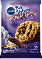Pillsbury Big Deluxe® Oatmeal Raisin Cookies 12 ct Pack
