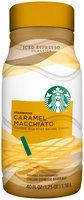 Starbucks Caramel Macchiato Chilled Espresso Beverage
