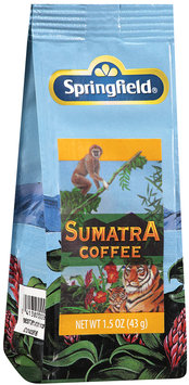 Springfield® Sumatra Coffee 1.5 oz