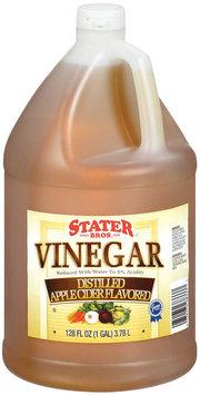 Stater Bros. Distilled Apple Cider Flavored Vinegar 128 Fl Oz Plastic Jug