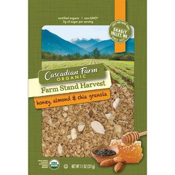 Cascadian Farm™ Organic Farm Stand Harvest Honey, Almond & Chia Granola 11 oz. Pouch