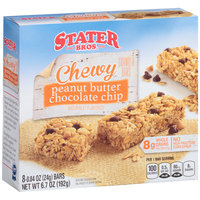 Stater Bros.® Chewy Peanut Butter Chocolate Chip Granola Bars 8-.84 oz. Bars