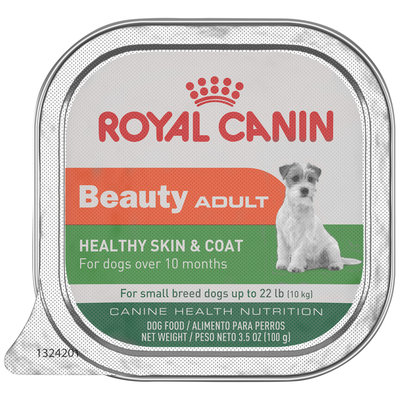 Royal Canin Beauty Healthy Skin & Coat Adult Dog Food 3.5 oz. Tin