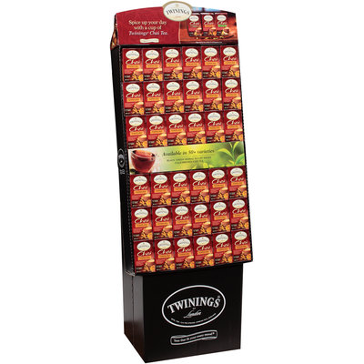 Twinings® of London Chai Pumpkin Spice Tea Bags Display 72 ct. Boxes