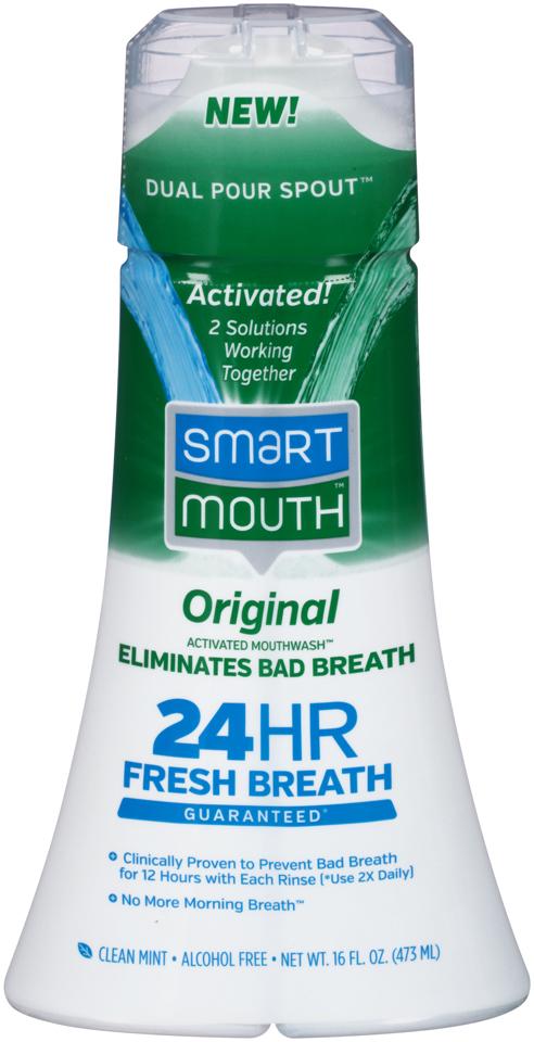 Smart Mouth™ Original Clean Mint Mouthwash 16 fl. oz. Bottle