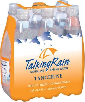 Talking Rain® Tangerine Sparkling Spring Water