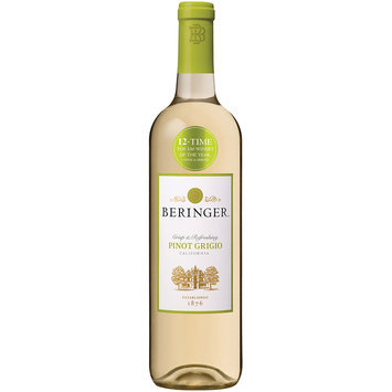 Beringer® California Pinot Grigio Wine 750mL Glass Bottle