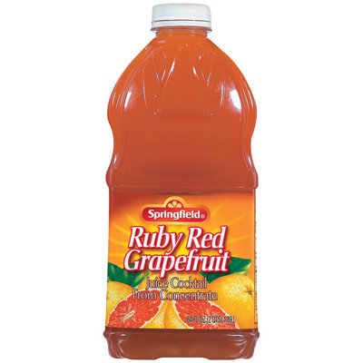 Springfield Ruby Red Grapefruit Juice 64 Oz Bottle