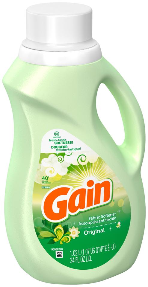 Gain Original Liquid Fabric Softener