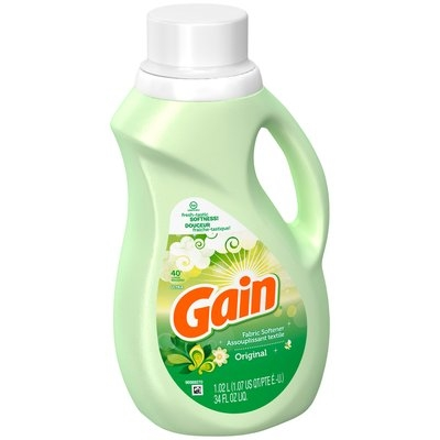 Gain Original Liquid Fabric Softener