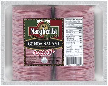 Margherita Genoa Salami Sandwich Solutions 32 Oz Package