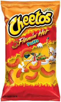 Cheetos® Flamin' Hot Puffs Cheese Flavored Snacks