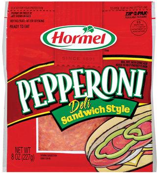 HORMEL Deli Sandwich Style Pepperoni 8 OZ PEG