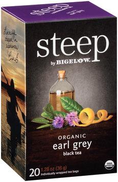 Steep by Bigelow® Organic Earl Grey Black Tea Bags 20 ct. Bags