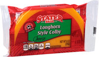 Stater Bros.® Longhorn Style Colby Cheese 8 oz. Brick