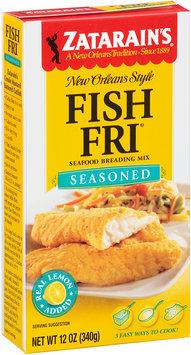 Zatarain's® Fish-Fri® Seasoned Seafood Breading Mix 12 oz. Box