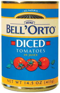 BELL'ORTO Diced In Juice Tomatoes 14.5 OZ CAN