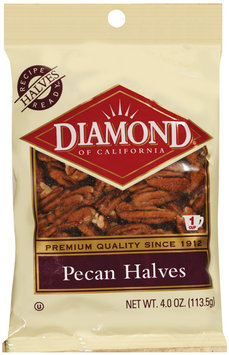 Diamond of California® Pecan Halves 4 Oz Peg