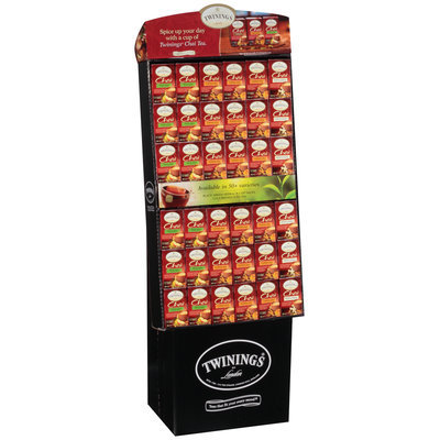 Twinings® Chai Spiced Apple/Pumpkin Spice/French Vanilla Display
