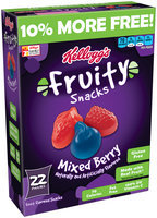 Kellogg's® Mixed Berry Fruity Snacks 22 ct Box