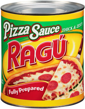 Ragu® Thick & Zesty Fully Prepared Pizza Sauce 107 oz. Can