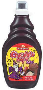 Springfield Chocolate Syrup 24 Oz Squeeze Bottle