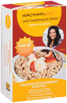 Rachael Ray™ Oat-tastically Good™ Instant Oatmeal Orange Strawberry Banana 8 ct. 11.29 oz. Box