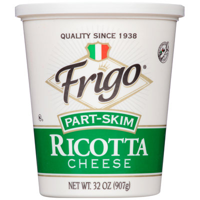 Frigo® Part-Skim Ricotta Cheese 32 oz. Tub