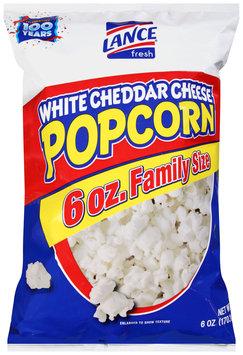 Lance® White Cheddar Cheese Popcorn 6 oz. Bag