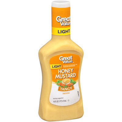 Great Value Honey Mustard Dressing, 16 fl oz