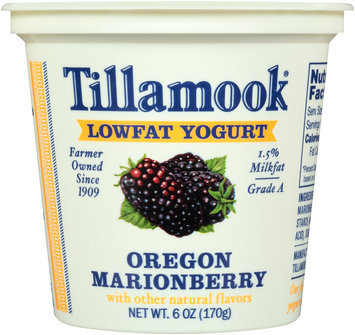 Tillamook® Oregon Marionberry Lowfat Yogurt 6 oz. Cup
