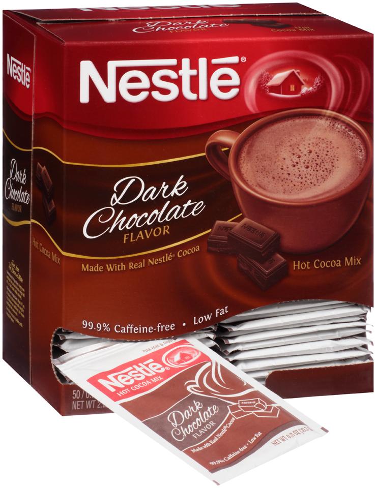 Nestlé Dark Chocolate Hot Cocoa Mix 5 Envelopes