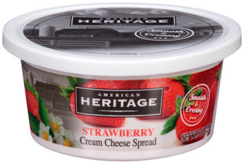 American Heritage® Strawberry Cream Cheese Spread 8 oz. Tub
