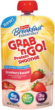 Carnation Breakfast Essentials Grab 'n Go! Strawberry Banana Protein Smoothie
