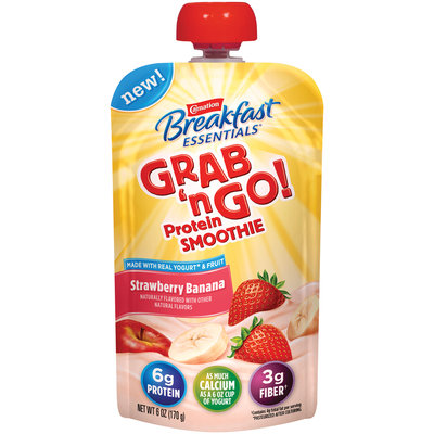 Carnation Breakfast Essentials® Grab 'n Go! Strawberry Banana Protein Smoothie