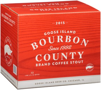 Goose Island Beer Co.® Bourbon County Brand Coffee Stout 12-1.06 pt. Glass Bottle