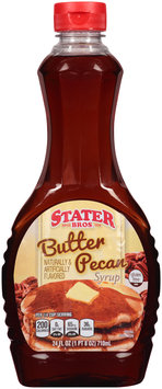 Stater Bros.® Butter Pecan Syrup 24 fl. oz. Bottle