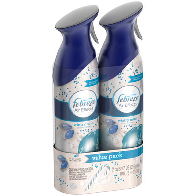 Air Effects Febreze Air Effects Wintry Mint Air Freshener (2 Count, 19.4 Oz)