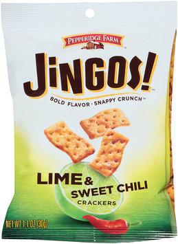 Pepperidge Farms® Jingos! Lime & Sweet Chili Crackers